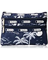 LeSportsac Boxed 3 Zip Cosmetic Case Bag