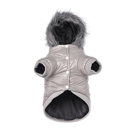 Namsan - Ropa Impermeable y Resistente al Viento, para Mascotas, Cachorro, Perro,