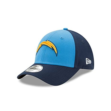 competitive price f04e9 6071c Image Unavailable. Image not available for. Color  Los Angeles Chargers New  Era 9FORTY The League Blocked Adjustable Hat ...