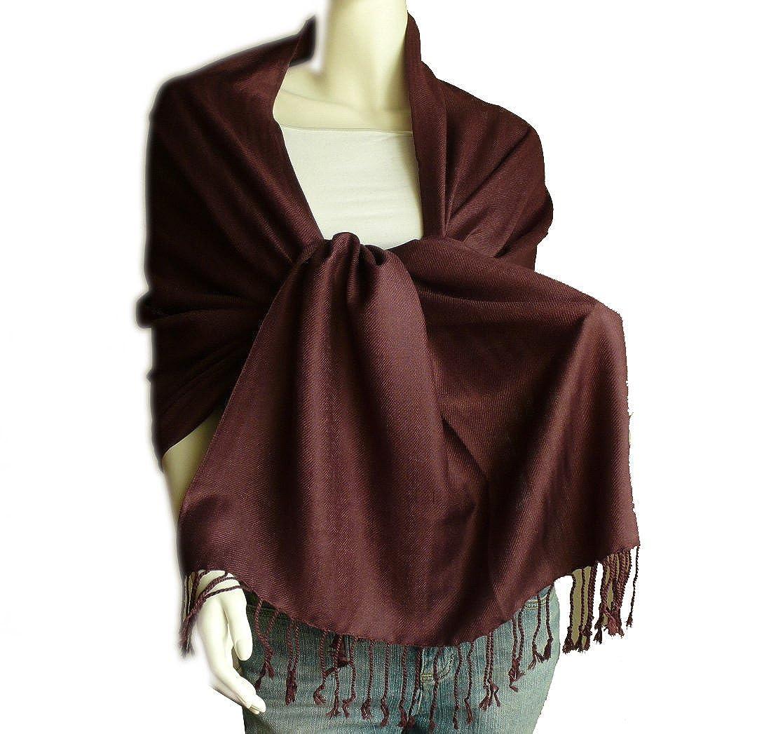 9233e10a910 SCARF_TRADINGINC® Large Soft 100% Twill Pashmina Scarf Shawl Wrap ...