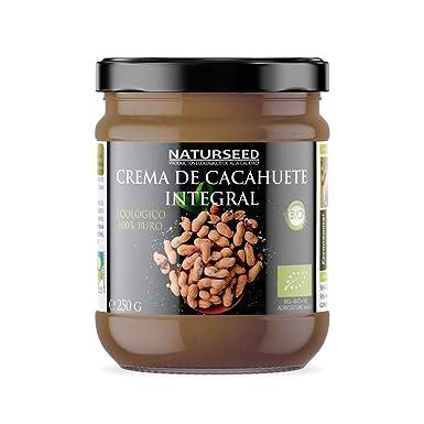 Naturseed Crema de Cacahuete Organica 100% Natural Ecologica - Sin azúcar, Sin Sal,