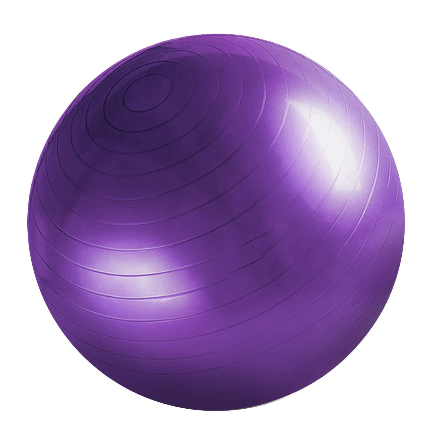 Fitness Ball Comfortable Durable Thickened Explosion-proof Yoga Gym Training Ball Purple