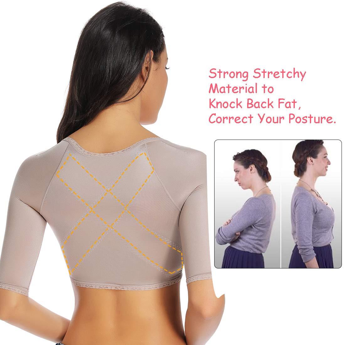 Arm Shapers for Women Compression Sleeves Upper Shapewear Posture Corrector Slimming Vest