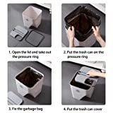 CURE SECRET 1 Pcs Separate Recycling Waste Bin