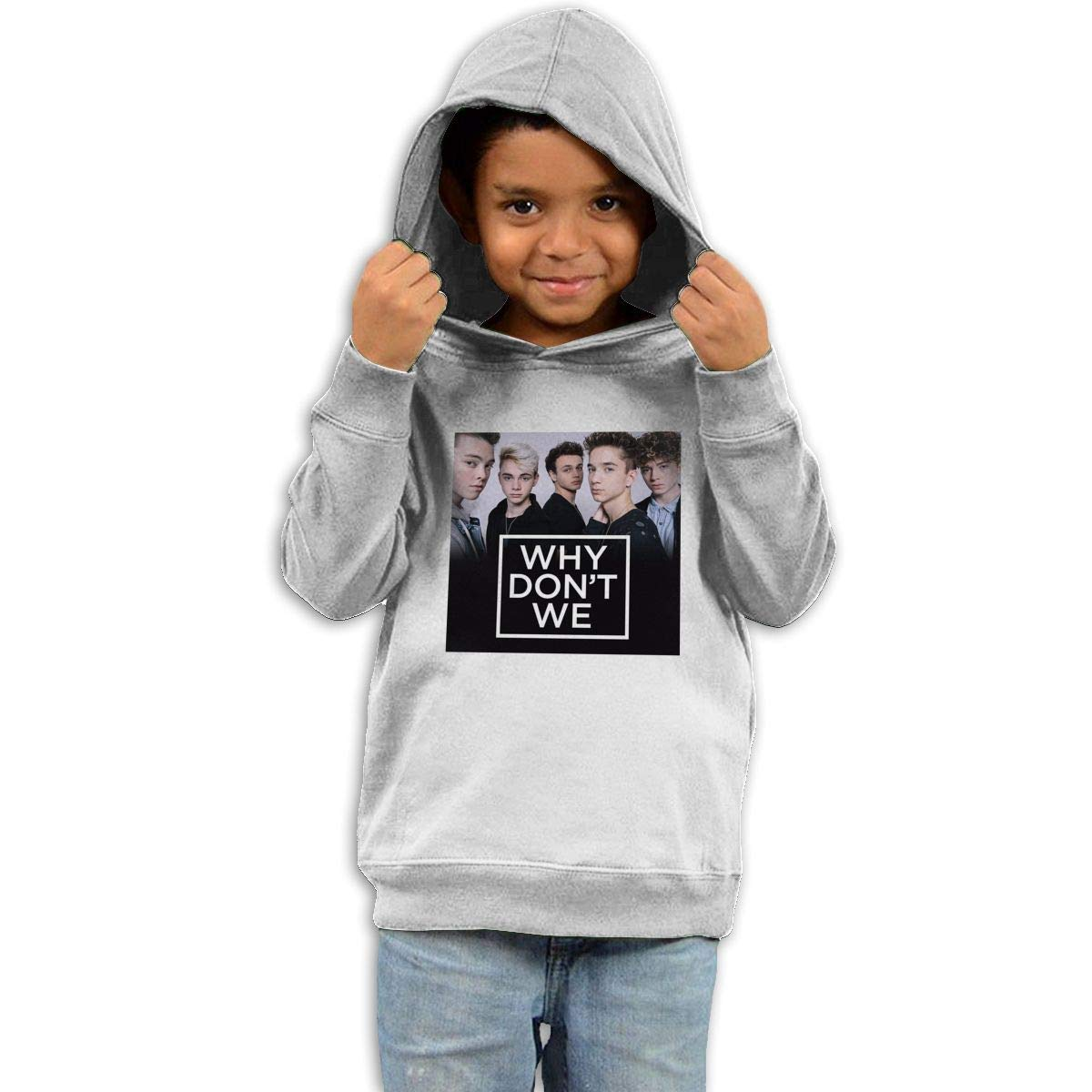 Stacy J. Payne Toddler Why Don't We Funny Sweater42 White