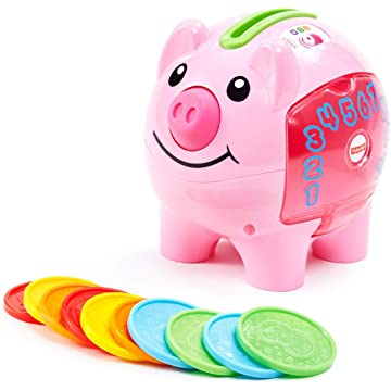 reliable Fisher-Price Laugh & Learn Smart Stages Piggy Bank
