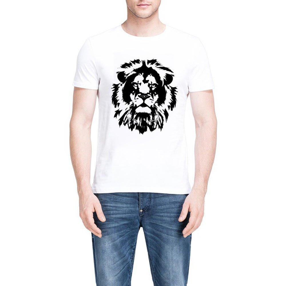 Loo Show Cool Lion Designer Summer T Shirts Tee