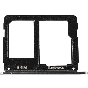 Samsung A5 2016 Sim Karte Einlegen.Original Samsung Sim Und Sd Kartenhalter Black Schwarz Für Samsung A310f A510f Galaxy A3 A5 2016 Sim Tray Holder Gh98 38665b