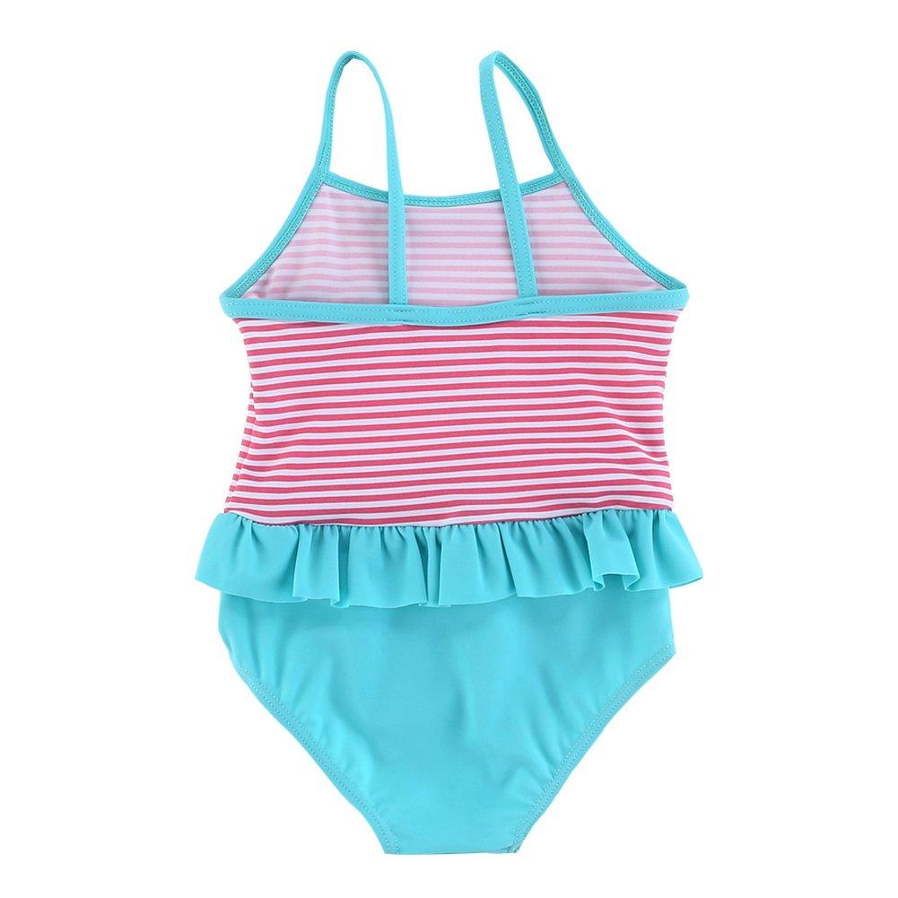 Vivafun Baby Girls Polka Dots One-Piece Swimwear