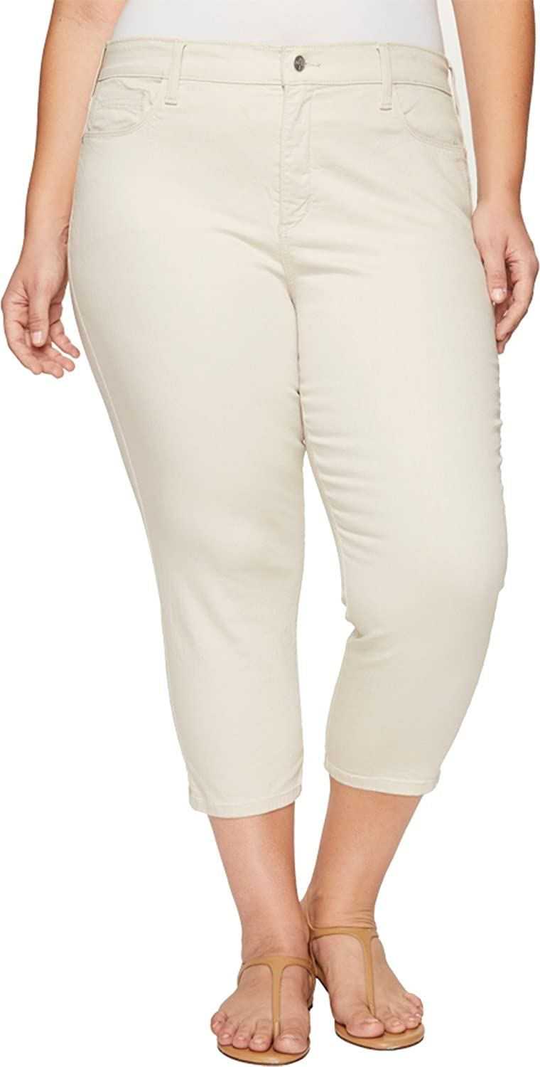 6c340039f78 NYDJ Plus Size Womens Plus Size Alina Capris in Clay at Amazon Women s  Jeans store