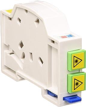 Delock LWL - Caja de conexión para Carril de Perfil Doble SC Simplex o LC Duplex: Amazon.es: Electrónica