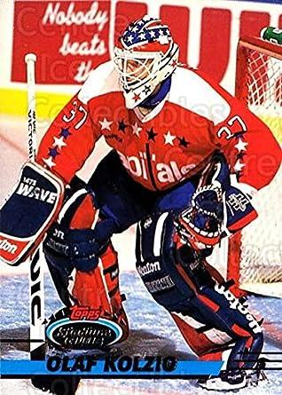 CI) Olaf Kolzig Hockey Card 1993-94 Stadium Club (base) 438 Olaf ... f80b55ed9