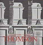 "Alexander ""Greek"" Thomson, Alexander Thomson, 0904503526"