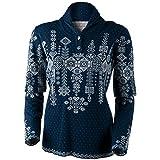 Obermeyer Cabin Knit Pullover Womens Sweater - Medium/Storm Cloud