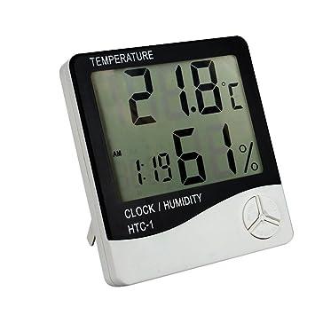 Rimantadina enlace/farmacia/fábrica electrónica hogar Digital termómetro de interior higrómetro legionaria Humidiometer Indicador