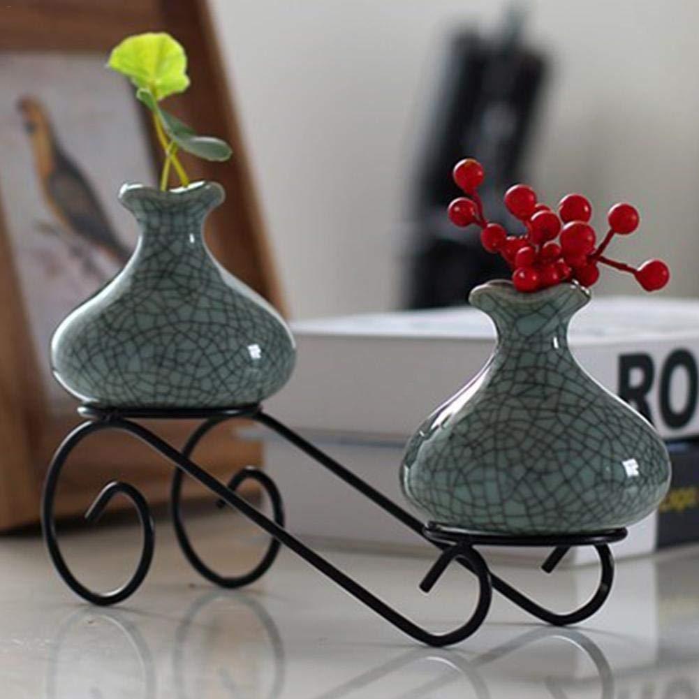 patios jardines soporte para macetas decorativas para interiores Soporte de metal para macetas de hierro exteriores soporte para macetas