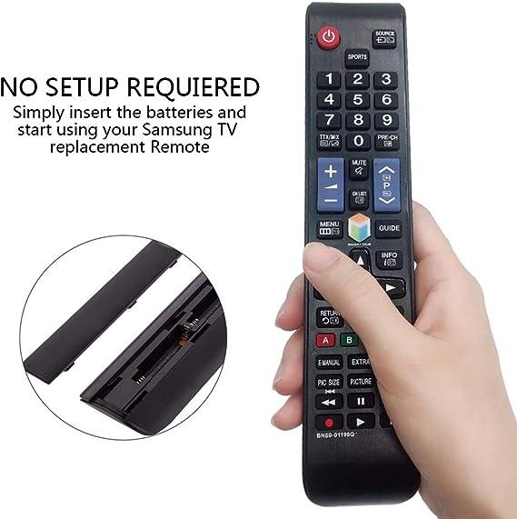 MYHGRC Reemplazo Samsung BN59-01198Q Control Remoto Ajuste La ...