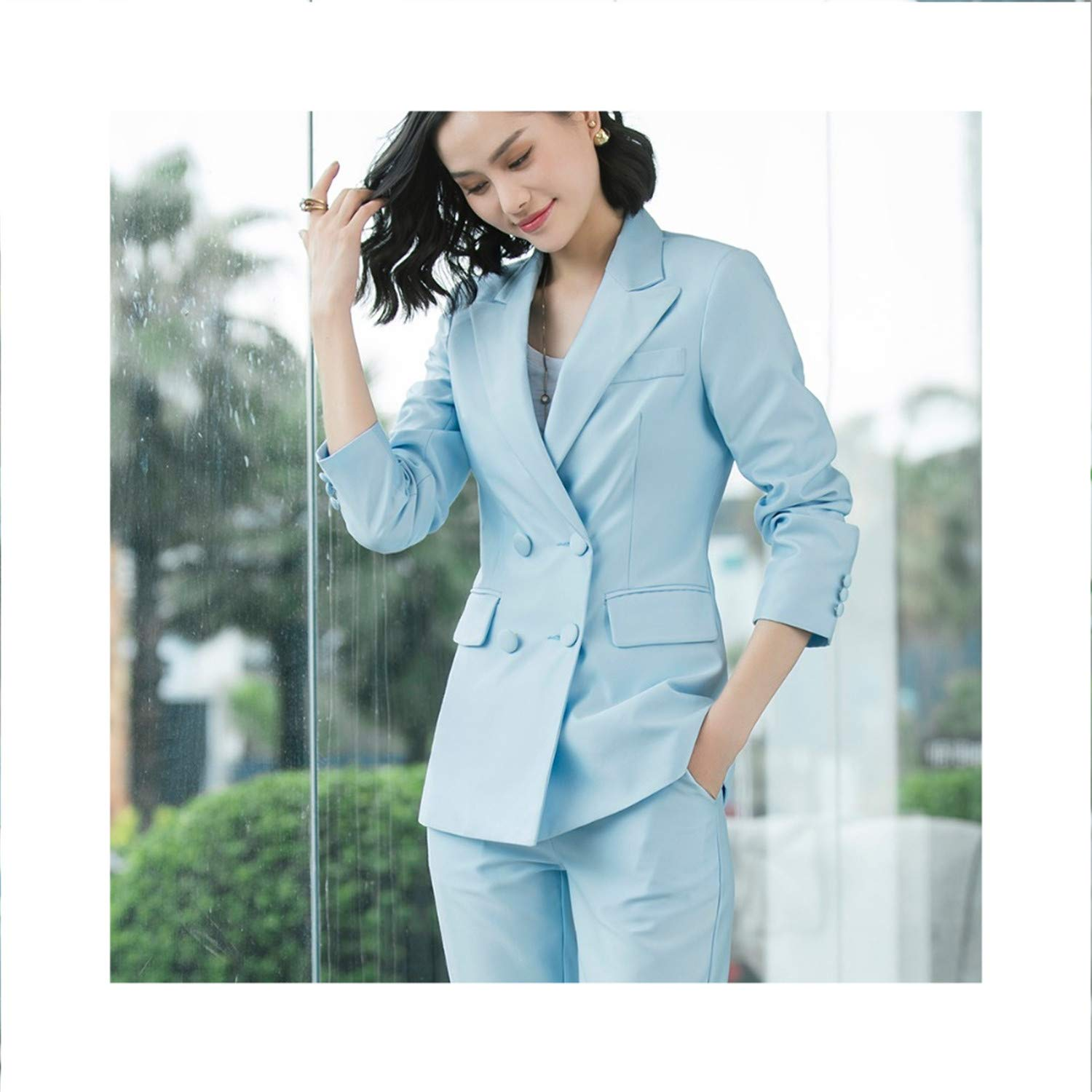 Perfectme Clothing New Office Work Blazer OL Women Pants Suit Blazers Jackets with Trouser