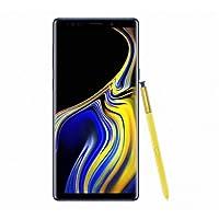 """Samsung Galaxy Note9 512GB - Dual SIM [Android 8.1, 6.4"""" AMOLED Dual 12.0MP+12.0MP, 8GB RAM, Exynos 9810] International Model, No Warranty (Ocean Blue)"""