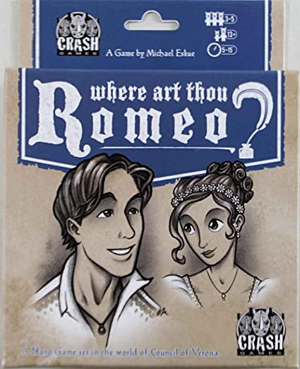 Amazon.com  Where Art Thou Romeo   Toys   Games d1aa77aff