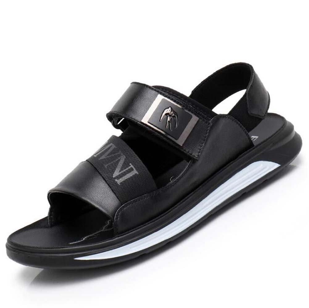 Herren Sandalen Wave Velcro Sport Sport Sport Casual Sandalen Vietnam Sandalen und Hausschuhe Schwarz Größe 38-44 Outdoor 8ee520