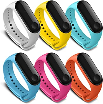 Amazon.com: AWINNER Bands Compatible with Xiaomi Mi Band 4 ...