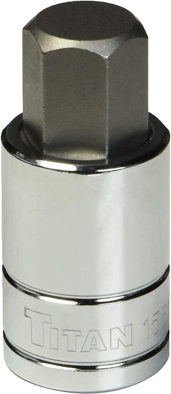 Titan 15613 13mm 1//2-Inch Drive Hex Bit Socket