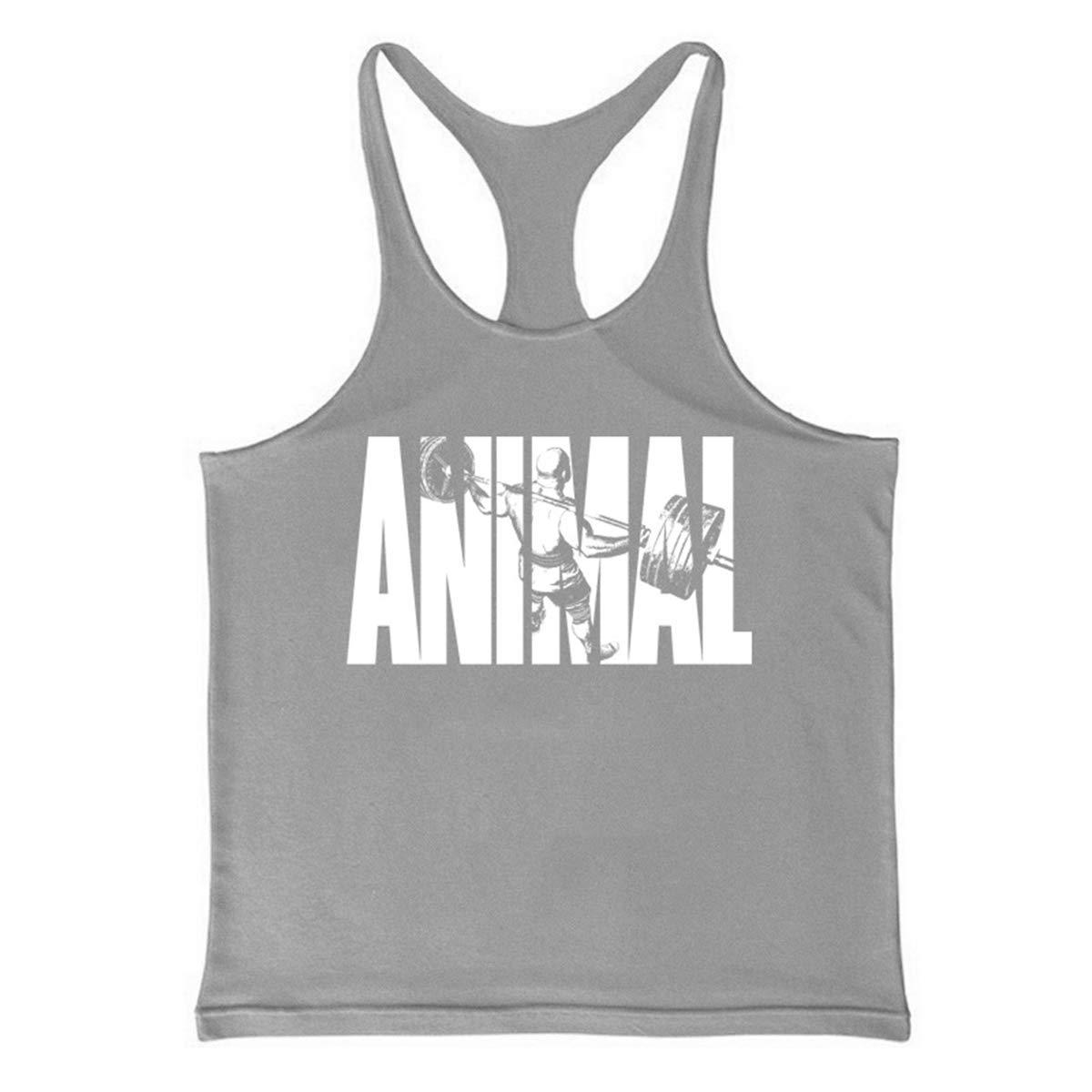 e92c7308b467e Cabeen Hommes Animal Musculation Stringer Bodybuilding Débardeur Tank Tops  Sport Shirt  Amazon.fr  Sports et Loisirs