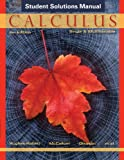 img - for Student Solutions Manual to accompany Calculus: Single and Multivariable, 6e book / textbook / text book
