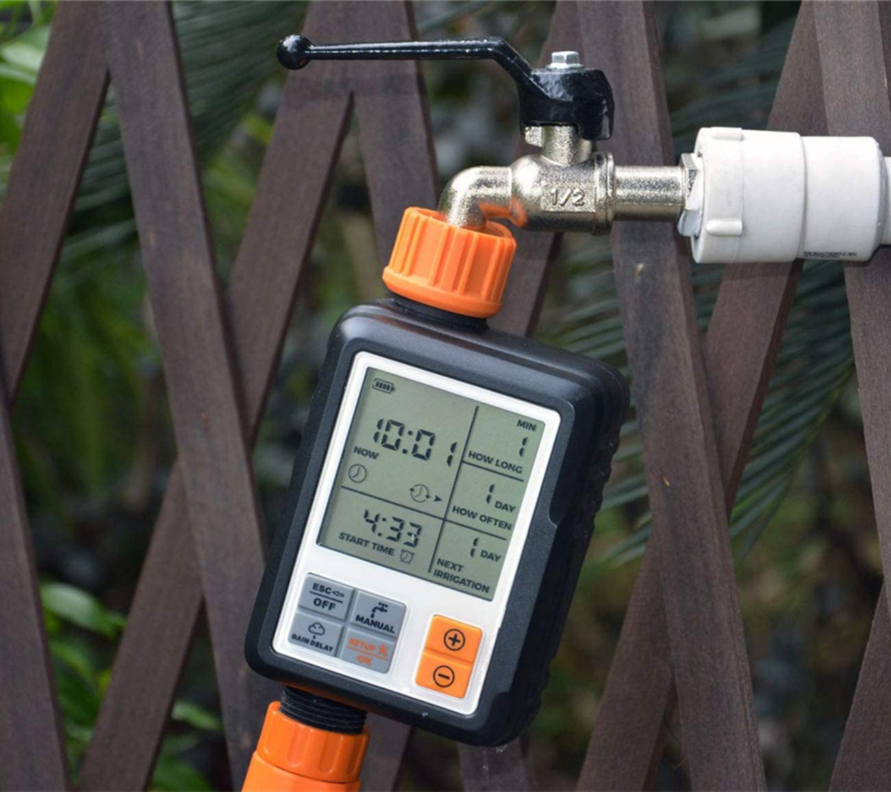 HAIYUN Plant Automatic irrigator with rain delay and Manual ...
