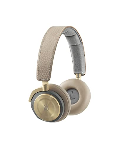 6801313e38a Amazon.com: B&O Play by Bang & Olufsen Beoplay H8 Wireless On-Ear Headphone  with Active Noise Cancelling, Bluetooth 4.2 (Argilla Bright): Home Audio &  ...