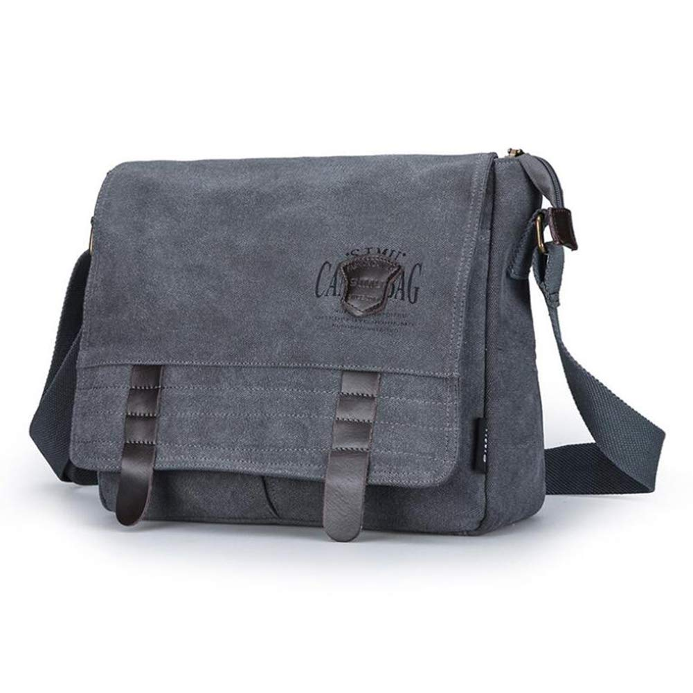 YCX Shoulder Bag Shopping,B,31x10x25CM Mens Casual Fashion Messenger Bag Retro Canvas Bag Outdoor Multi-Function Travel Daypack Suitable for Outdoor Travel Work