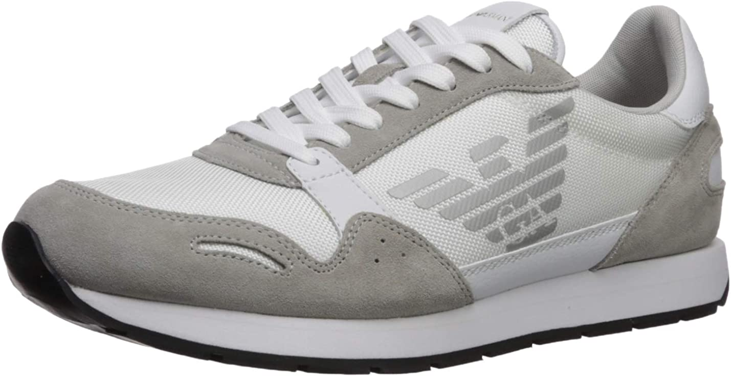 Emporio Armani Men S Lace Up Sneaker Fashion Sneakers