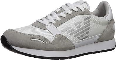 Emporio Armani Men's Lace-up Sneaker