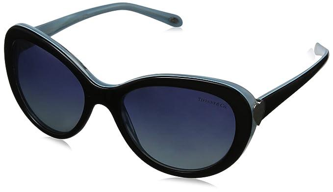 Tiffany & Co. 0TY4113 81934U 55 Gafas de Sol, Negro (Black ...