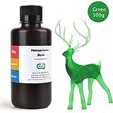 ELEGOO 光造形3Dプリンター用 ABS類似UVレジン 500g 光硬化可能樹脂 3Dプリンタ向け(绿)