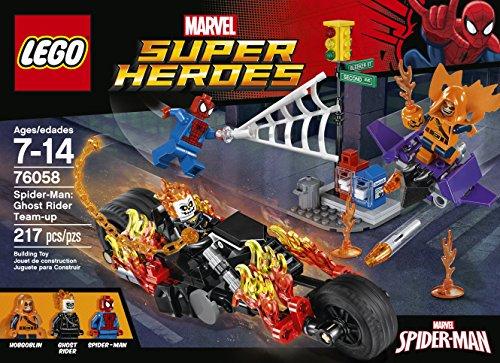 Amazon.com: LEGO Marvel Super Heroes Spider-Man: Ghost Rider Team ...