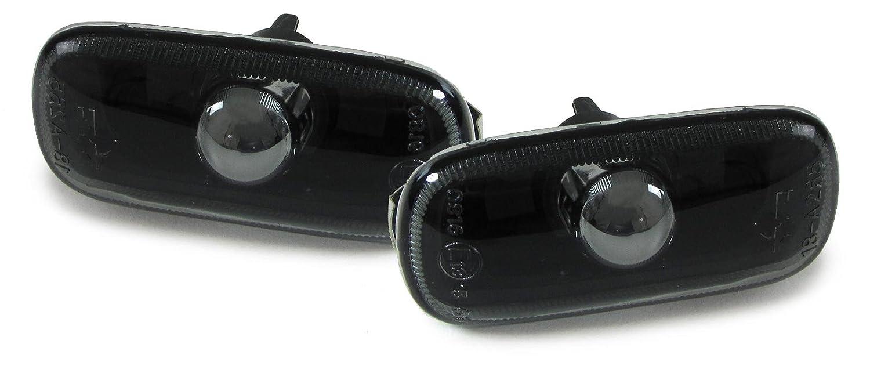 Carparts-Online 28510SET Klarglas Seitenblinker smoke schwarz Paar