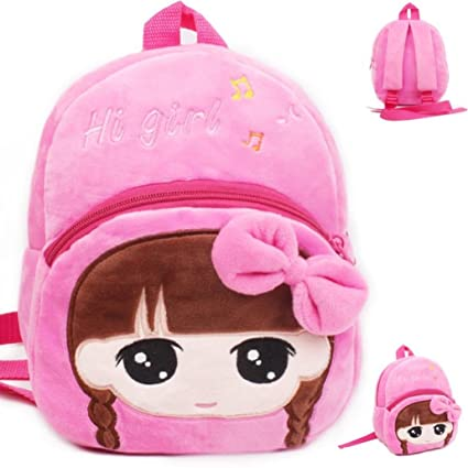 OWMEOT 3D Cute Toddler Kids Backpack Animal Cartoon Lunch Boxes Carry Bag  Pre School Elementary School ... df21211e77