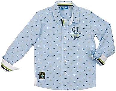 Ubs2 Camisa m/l Niño Azul T2-6: Amazon.es: Ropa y accesorios