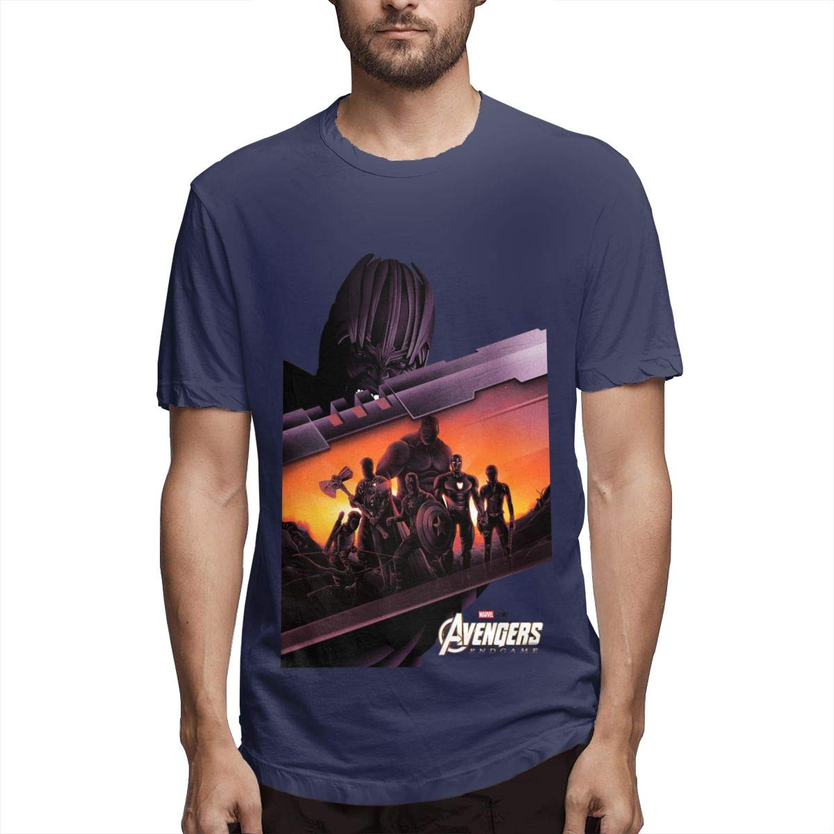 Nt Huatou S Printing Casual Endgame Short Sleeve Cool T Shirt 6756