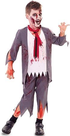 Fyasa Disfraz de colegiala zombie 706527-T01, tamaño mediano ...