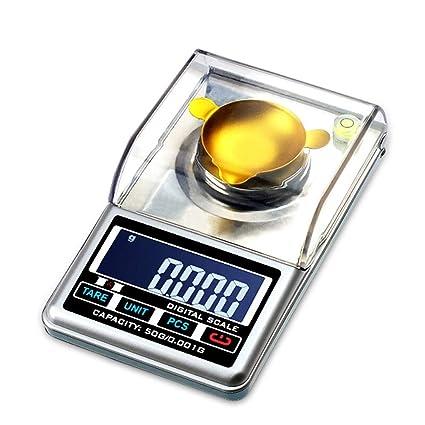 Cucsaist Balanza Digital Balanza Electrónica De Alta Precisión 0.001G Balanza Electrónica Análisis De Laboratorio Balanza