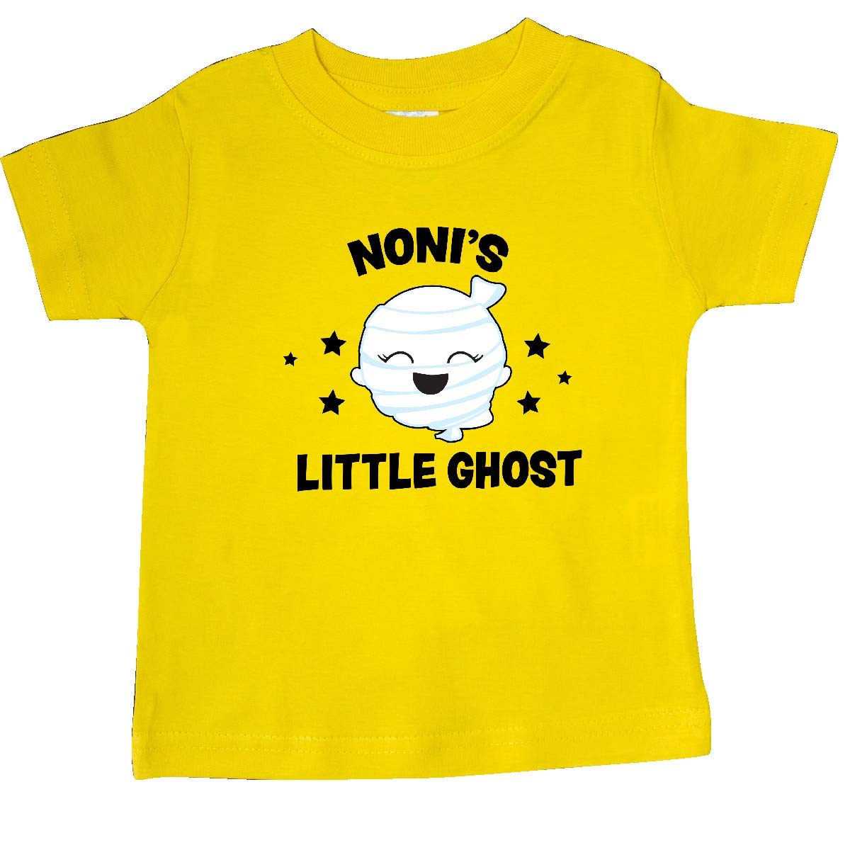 inktastic Cute Nonis Little Ghost with Stars Baby T-Shirt