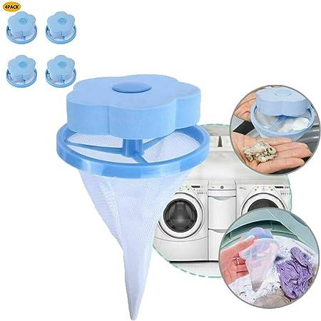 Saying 4 bolsas reutilizables para quitar el pelo de la lavadora ...