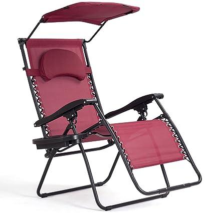 Awe Inspiring Amazon Com Nanapluz Red Wine Folding Zero Gravity Lounge Pabps2019 Chair Design Images Pabps2019Com