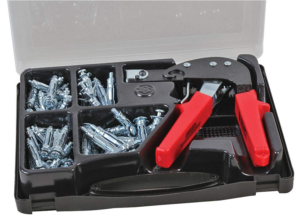 HOLLOW WALL ANCHOR & TOOL KIT - 72PC Fastener Material Steel Product Range Duratool - Wall Fixings