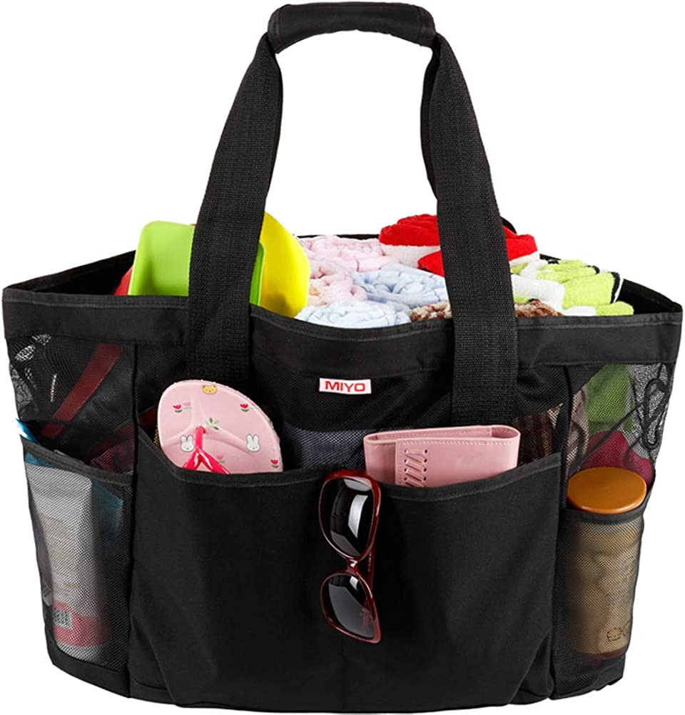 Palm Tree Bag Tropical Beach Tote Jumbo Bag Big Tote Bag Burdines Shopping Bag Bright Blue Bag Extra Large Beach Bag Mesh Beach Bag