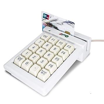 Lector de tarjetas magnético, USB, tarjeta de crédito con ...