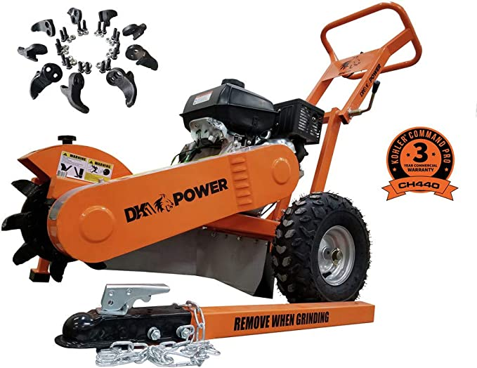 DK2 Power Stump Grinder OPG777 - A Solid-Built Stump Grinder